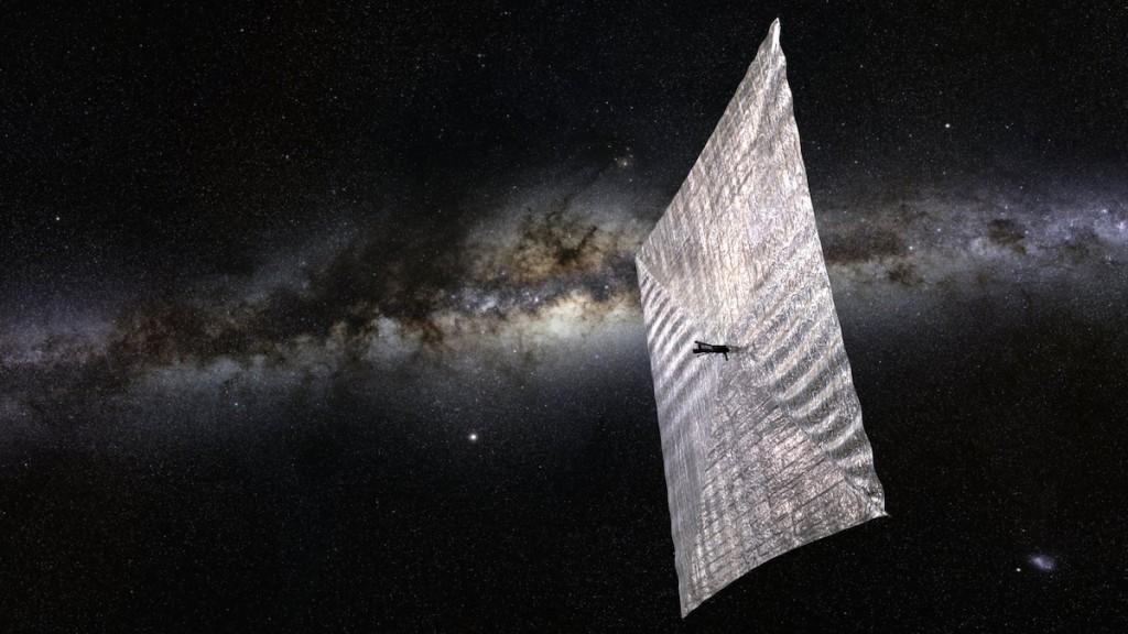 radiosignaler fra fjern galakse